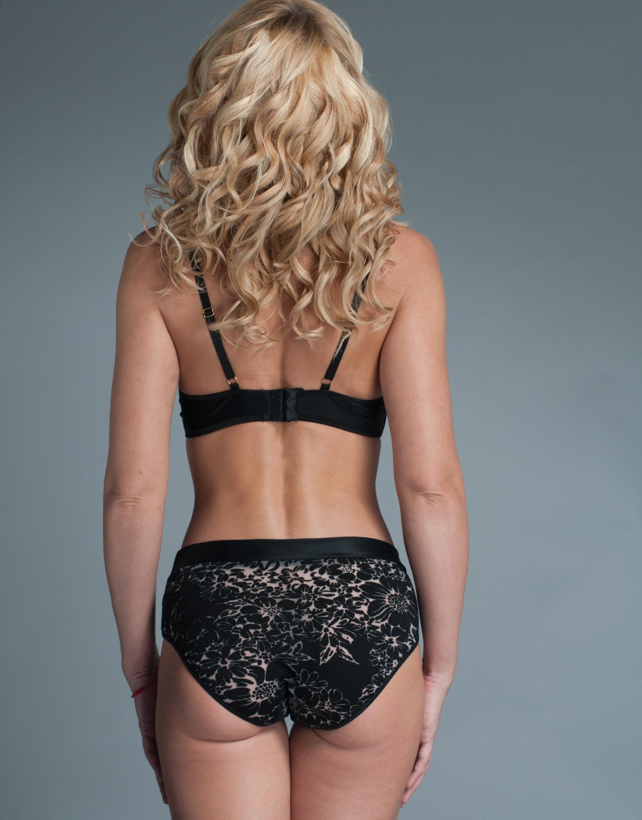 Remember votin black mesh panties yes