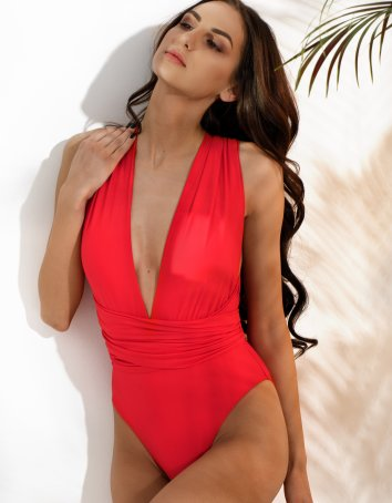 Trendy High Cut Swimsuit