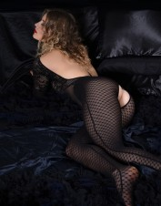 FAF Lingerie. Accentuate Your Curves Lace Bodystocking. FAF-359, Color: AS SHOWN